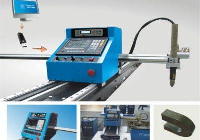 Labākās kvalitātes cnc plazmas galdiņš / portāls / protable cnc plazmas griešanas mašīna