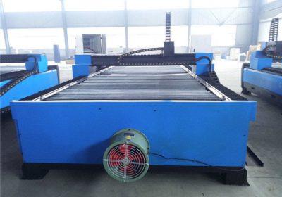 Plazmas griešanas loksnes tērauda CNC galda plazmas griešanas mašīna