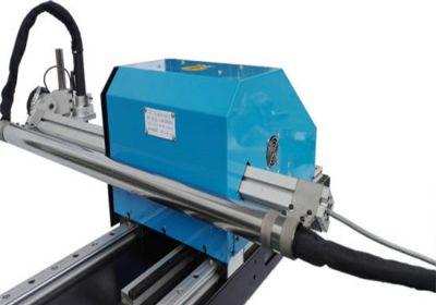 Gantry tipa CNC plazmas griešanas mašīna, tērauda plākšņu griešanas un urbšanas iekārtas rūpnīcas cenu