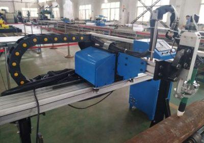 Lētas cenas vara cauruļu / dzelzs caurules / nerūsējošā tērauda caurules Taivāna CNC plazmas griešanas mašīna