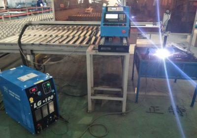 Gantry tipa CNC plazmas griešanas un plazmas griešanas mašīna, tērauda plākšņu griešanas un urbšanas iekārtas rūpnīcas cenu