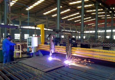 Metāla griešanas mašīna, profesionālās CNC plazmas griešanas mašīnas, CNC plazmas kniedes griešanas mašīna