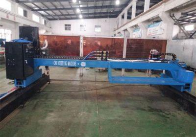 augstas kvalitātes pārnēsājamas CNC gaisa plazmas griešanas mašīna
